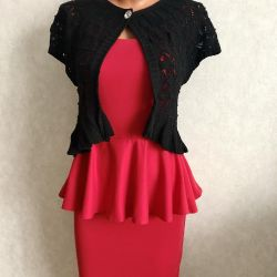 Dress knitted and bolero