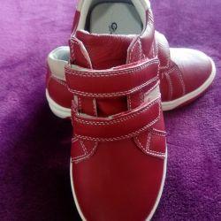 Children's low shoes nat.kozha 32-33