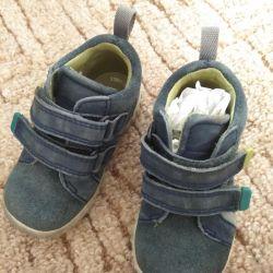 Ανδρικά παπούτσια, δερμάτινη μπότες Ecco, 20τ.