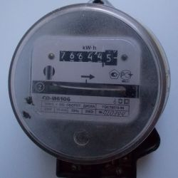 Electric meter SO-I6106