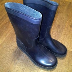 Rubber boots size 38
