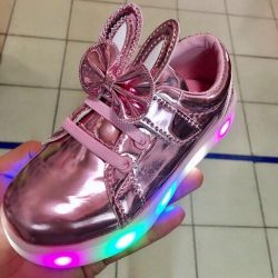 New sneakers with glowing soles ✨