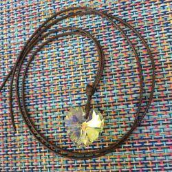 Swarovski kalp kolye