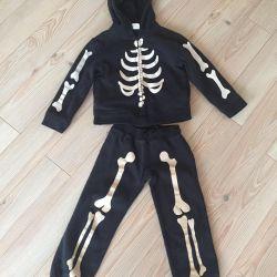 Costumul lui Roger în înălțime schelet 110-116