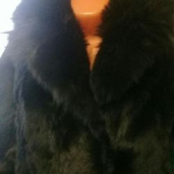 Fur coat natur.mex