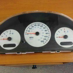 Πίνακα ελέγχου της Chrysler Voyager