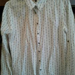 Gömlek pamuklu markalı