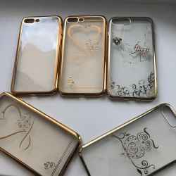 iPhone 7/8 plus cases and glasses