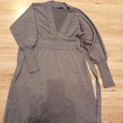 Платье с люрексом женское