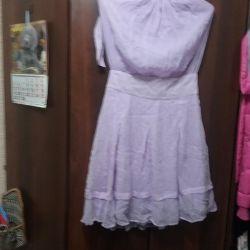 Astar üzerinde hafifçe mor elbise 44 46