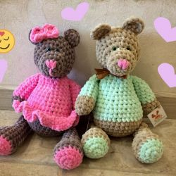 Teddy bears 40 cm