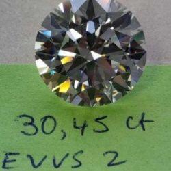 30 carat diamond. GIA PROOF DOCUMENTS