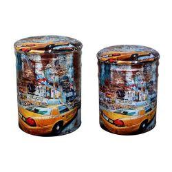METALLIC STOCK 2TM HM267 YELLOW CAR