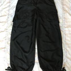 DKNY silk pants