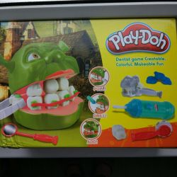 Dental game Play-Doh 3 +