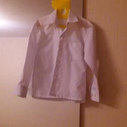 White shirt for 5-6 years