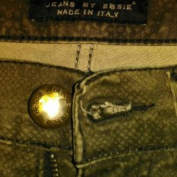 jeans by bessie made in italy new