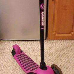 Ben scooter şirketi Y-Bike Glider'ı vereceğim
