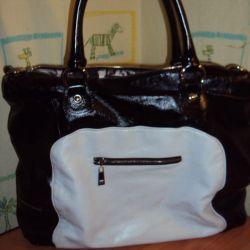 Milan Leather Large Bag