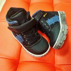 Ботинки на натуральной шерсти
