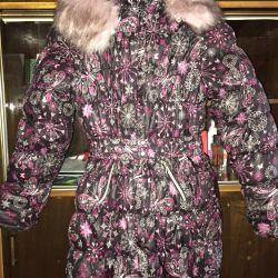 10-11 yaş arası kızlar için ceket.