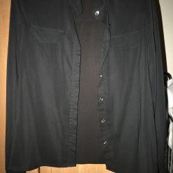 Рубашка шифон размер с