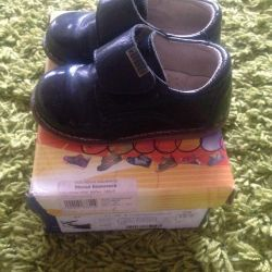 Shoes for the boy, genuine leather, orthopedists!