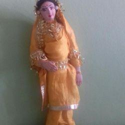 Ινδική χειροποίητη κούκλα, αγόρασε στην Τασκένδη το