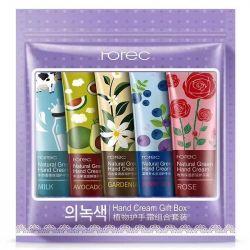 set of natural hand creams