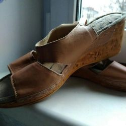 Sandals leather skin p.41
