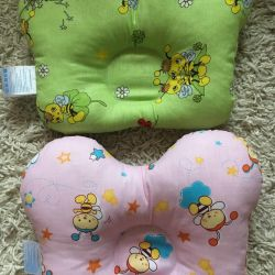 Ортопедическая подушка для новорожденных Paster