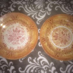 Plates 2 pieces royal