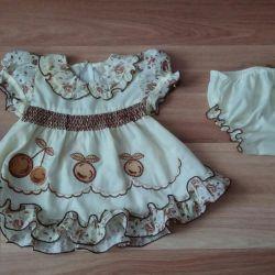 Φόρεμα με εσώρουχα για το μωρό