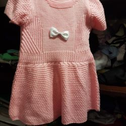 New knitted dress