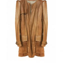 Irfe, original, France, luxury trench coat, leather