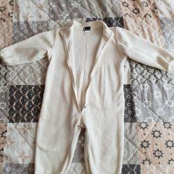 Fleece overalls.Kerry poddeva. Rr 80