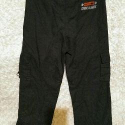Cepler ile rahat pantolon
