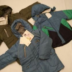 Jackets new r 98 (tsvetn), 110 (blue) firm World of childhood