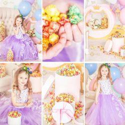 Hire of children's dresses