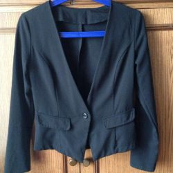Новый чeрный пиджак (жакет)