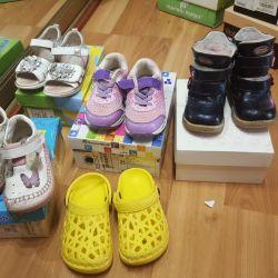 Обувь для девочки р 25