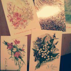 10 καρτ-ποστάλ από τις 8 Μαρτίου της ΕΣΣΔ