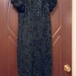 Платье было сшито на заказ