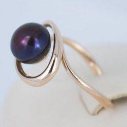 Gold ring 585 sample. Art. A0281. Rr 17,5.