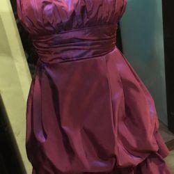 Платье вечернее/коктейльное и сумочка