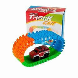 Toy Stunt Track Car 56 PCS (Magi)