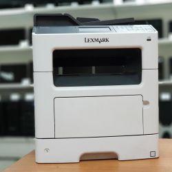 Lexmark MX410de, laser mfp, duplex, LAN, b / w