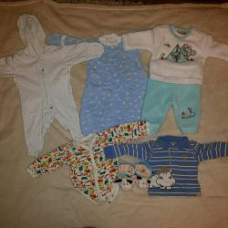 Clothes for baby 56-62