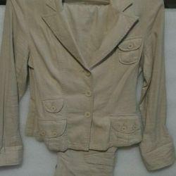 Linen summer suit