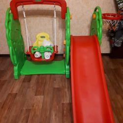 Slide + swing μαϊμού